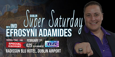 Super Saturday With IMD Efrosyni Adamides tickets