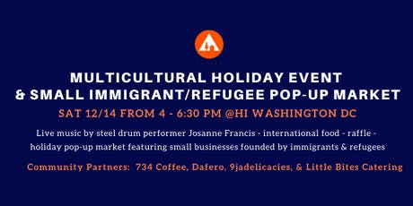 Multicultural Holiday Event & Small Immigrant & Refugee Pop-Up Market tickets