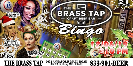 Drag Bingo - Brass Tap Annapolis January Edition! tickets