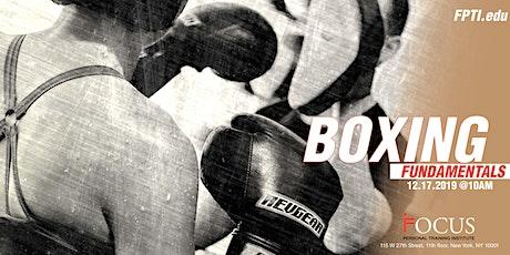 FPTI Boxing Fundamentals tickets