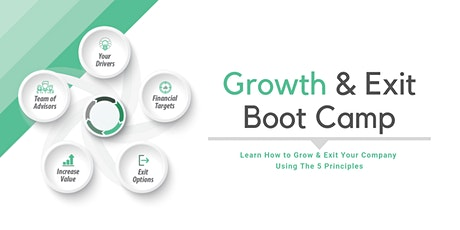 Growth & Exit Boot Camp, OH - March tickets