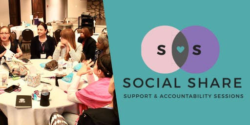 Social Share: Support & Accountability Sessions