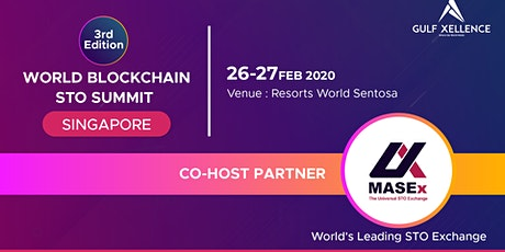 WORLD BLOCKCHAIN STO SUMMIT  tickets