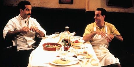 Food In Film: BIG NIGHT (1996) - Presented On 35mm tickets