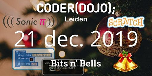 CoderDojo Leiden #66 | Bits en Bells (winter!)