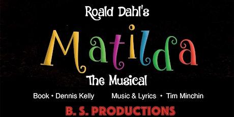 Roald Dahl's Matilda The Musical tickets