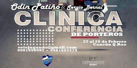 Clinica-Conferencia de Porteros entradas
