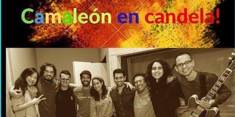 Camaleón en Candela! entradas