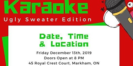 Xmas Karaoke Party: Ugly Sweater Edition tickets