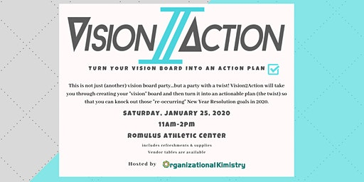 Vision2Action - Turn your vision into an action plan!