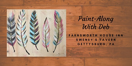 Five Feathers Paint-Along - Farnsworth House Inn Tavern tickets