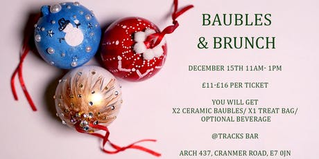 Baubles and Brunch: Christmas Bauble Decorating Workshop tickets