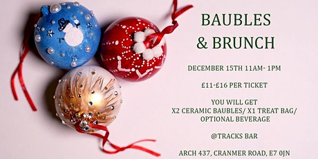 Christmas Bauble Decorating Workshop tickets