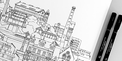 Bingley Townscapes - Morning Drawing Workshop