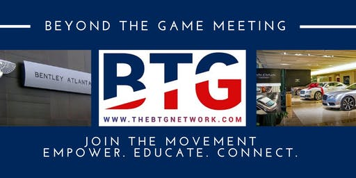 Beyond The Game Network January Meeting