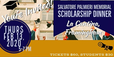 2020 Salvatore Palmieri Memorial Scholarship Dinner tickets