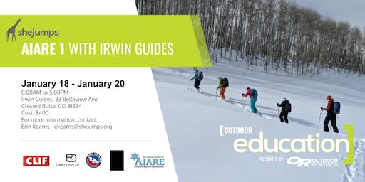 CO SheJumps AIARE 1 with Irwin Guides