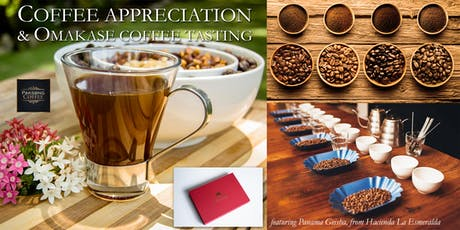 Coffee Appreciation & Omakase Tasting Bar tickets