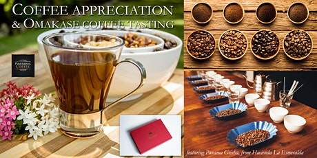 Coffee Appreciation & Omakase Tasting Bar tickets