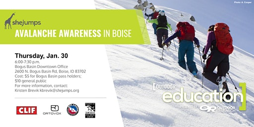 ID SheJumps Avalanche Awareness in Boise