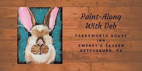 Little Brown Bunny Paint-Along - Farnsworth House Inn Tavern tickets