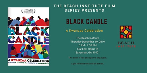 The Black Candle  A Kwanzaa Celebration
