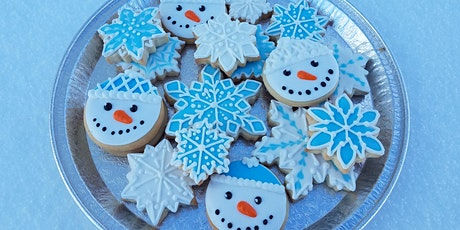 Winter wonderland cookies! Glass of wine included! tickets