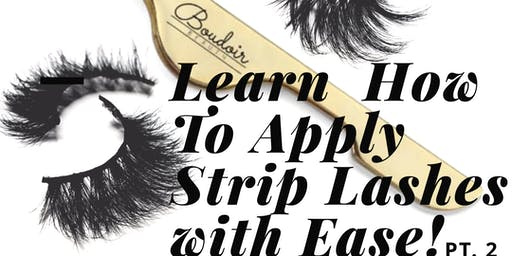 Apply Strip Lashes with Ease, Pt.2