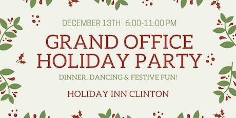 Grand Office Holiday Party tickets
