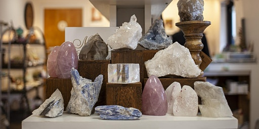 Beginner Crystal Class at Cape Cod Crystals In Pocasset, MA.