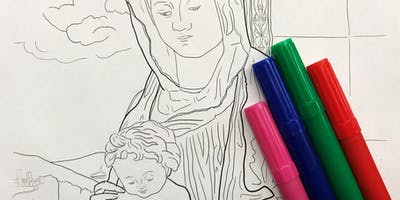 Drawing Party: #ColorOurCollections