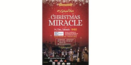 Christmas Miracle Portugal 2019 bilhetes