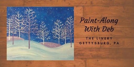 Frosty Landscape - The Livery Paint-Along