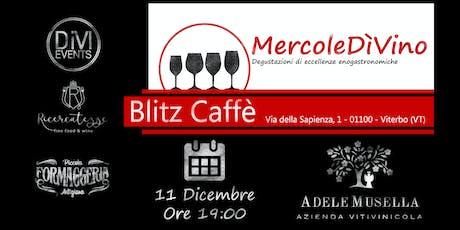 MercoleDìVino al Blitz Caffè biglietti