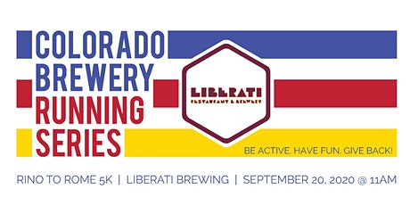 RiNo to Rome 5k - Liberati Brewing | Colorado Brewery Running Series tickets