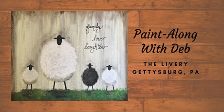 Sheep Family - The Livery Paint-Along tickets