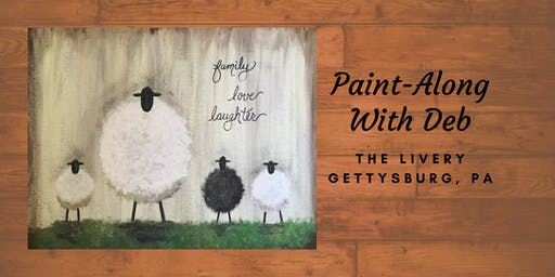 Sheep Family - The Livery Paint-Along