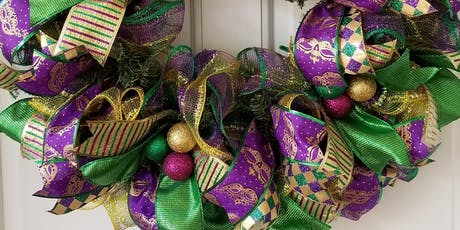 Wreath Workshop - Mardi Gras tickets