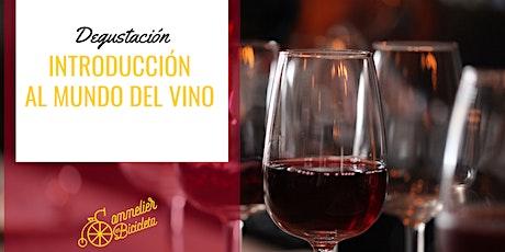Introducción al mundo del vino y la degustación tickets