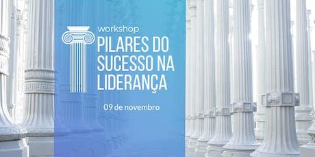 Workshop de GESTÃO DE PESSOAS para a ALTA PERFORMANCE - Pilares do Sucesso tickets