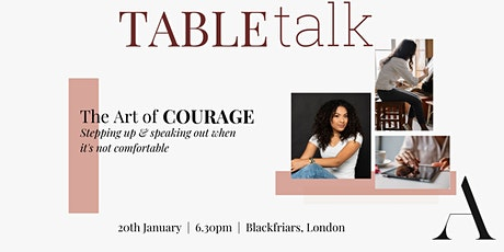 The Art of Courage tickets