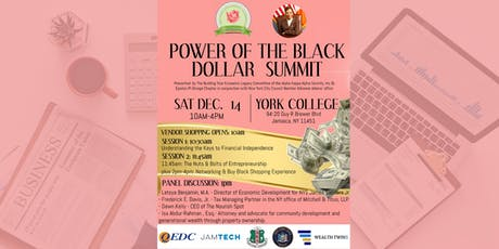 The Power of The Black Dollar Summit: Building Your Economic Legacy tickets