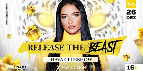 Release The Beast - HAVA CLUBSHOW - Christmas Edition Tickets