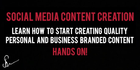 Social Media Content Creation Hands On Action Steps tickets