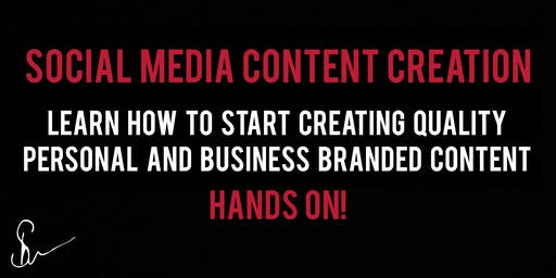 Social Media Content Creation Hands On Action Steps