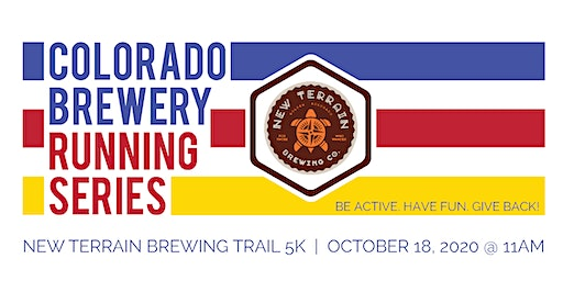 Beer Run - New Terrain Brewing Trail 5k | Colorado Brewery Running Series