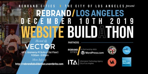 Rebrand Los Angeles: Small Business Website Build-a-thon