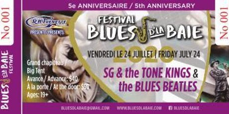 BLUES BEATLES & SG and the Tone Kings Blues d'la Baie tickets