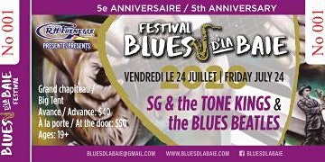 BLUES BEATLES & SG and the Tone Kings Blues d'la Baie