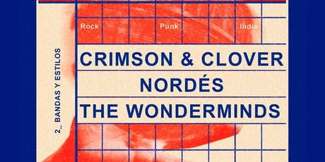 Crimson&Clover + Nordés + The Wonderminds tickets